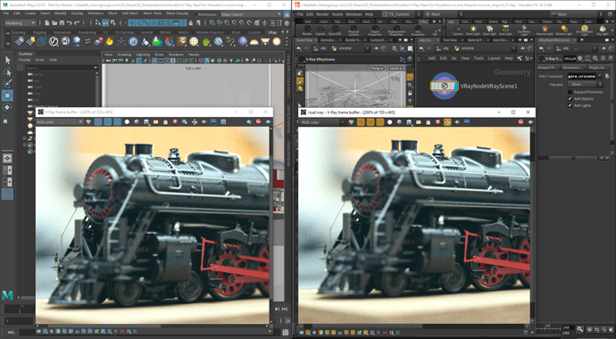 V-Ray for Houdini Feature