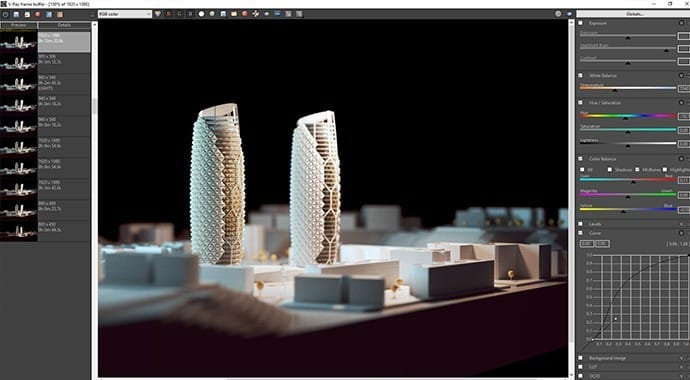 V-Ray for Rhino Feature